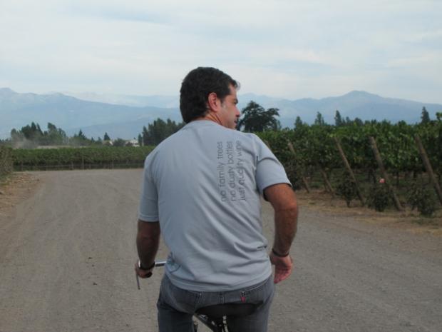 On yer bike: Adolfo Hurtado (Mini Mel to you)