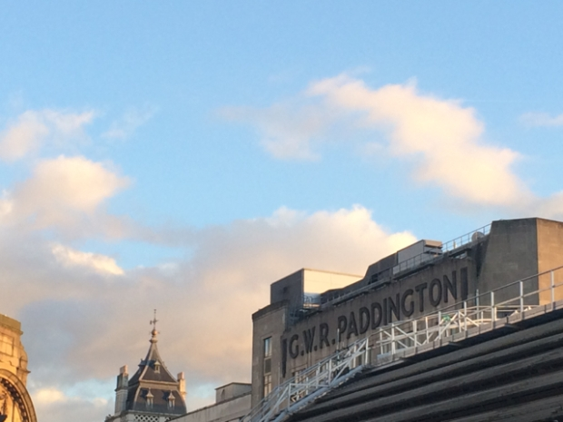 Beautiful light over Paddington station