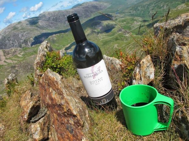camping wine
